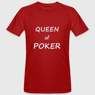 Queen of Poker - Poker cool Design T-shirt - T-shirt bio Homme