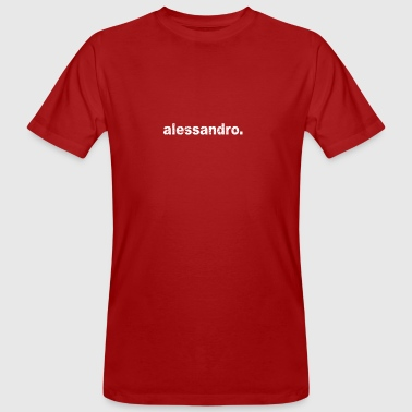 Gift grunge style first name alessandro - Men's Organic T-shirt