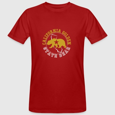 California Golden State Bear - Männer Bio-T-Shirt