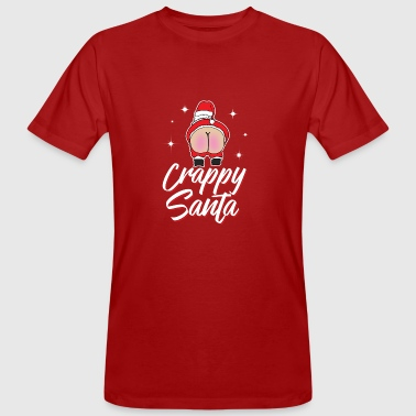 Crappy Santa - Men's Organic T-shirt