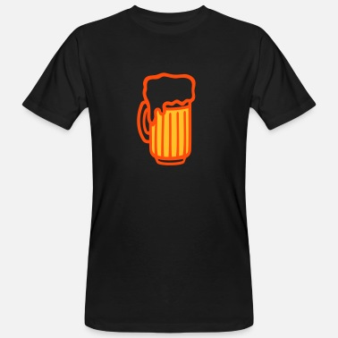 Pint Pint - Beer glass - Men's Organic T-Shirt