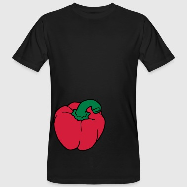 Green Pepper - Mannen Bio-T-shirt