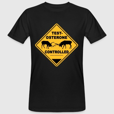 Testosterone controlled - T-shirt bio Homme