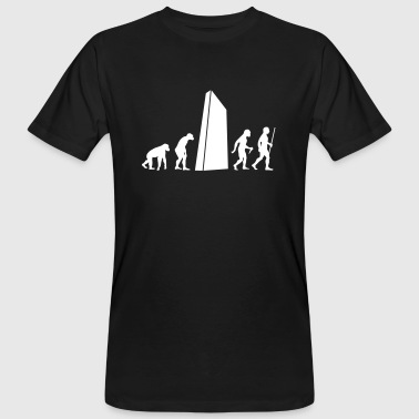 Evolution - Monolith - Männer Bio-T-Shirt
