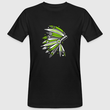 Chieftain's Headdress - Men's Organic T-shirt