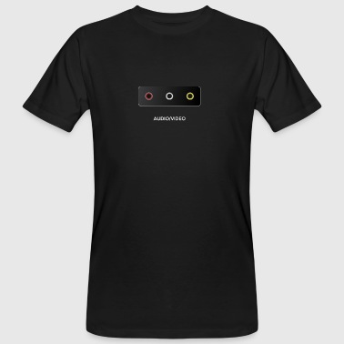 Get Connected Series - Part 1: A/V (Vintage) - Mannen Bio-T-shirt