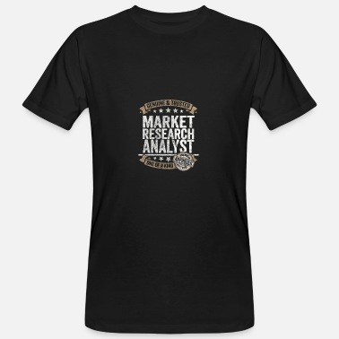 Marktforschung Market Research Analyst Premium Quality Approved - Männer Bio-T-Shirt