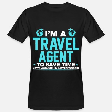 Agence agence de Voyage - T-shirt bio Homme