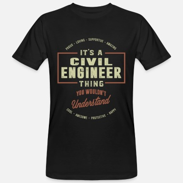Guerra Civil Ingeniero civil - Camiseta ecológica hombre