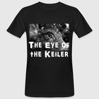 the eye of the keiler - Männer Bio-T-Shirt