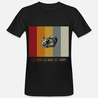 Chinchilla chinchilla - T-shirt bio Homme