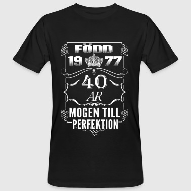 SE perfection - 2017 - 1977-40 ans - T-shirt bio Homme