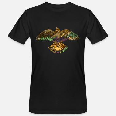 American Eagle Hawk American Indian Native Animal - Ekologisk T-shirt herr