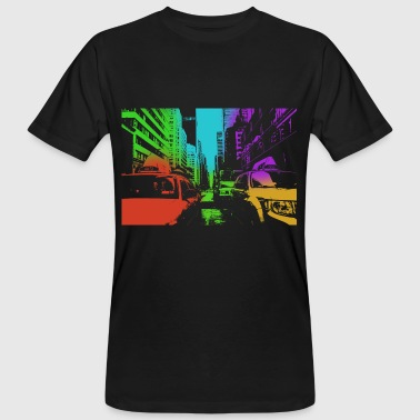 ny_in_color - Männer Bio-T-Shirt