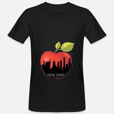 Big Apple BIG APPLE - Økologisk T-shirt mænd