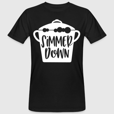 Down With Detroit simmer down gift - Männer Bio-T-Shirt