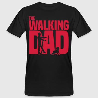 the walking-dad - the current Daddy funny zombie - Men's Organic T-shirt