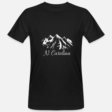 North Carolina North Carolina - Mannen Bio-T-shirt