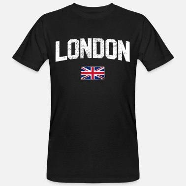 London England Union Jack London England Union Jack - Men's Organic T-Shirt