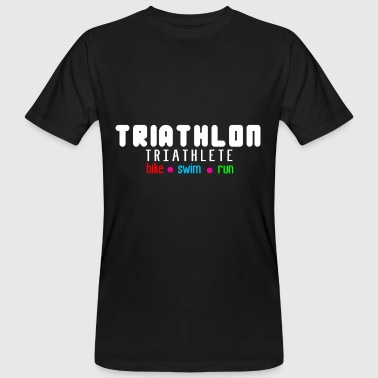 Leistungssport Triathlon Leistungssport - Männer Bio-T-Shirt
