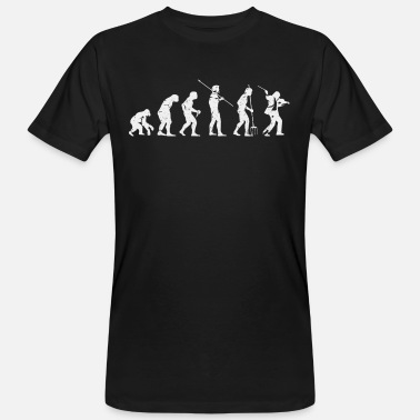 Compositeur Evolution du violon - T-shirt bio Homme