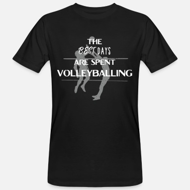 Voleibol De Playa Volleyball volleyballer regalo voley playa - Camiseta ecológica hombre