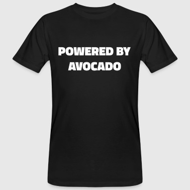 Avocado Powered By Avocado Guacamole Men Women T Shirt - Camiseta ecológica hombre