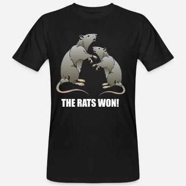 Won THE RATS WON! - Men's Organic T-Shirt