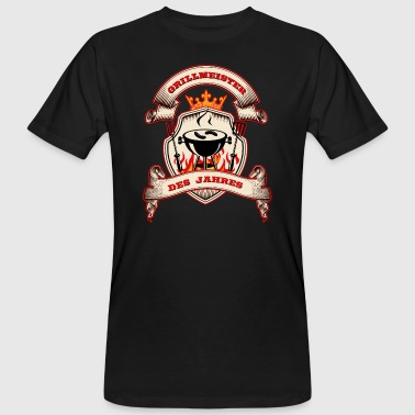 Grill Utensils Grill Master of the Year - Men's Organic T-Shirt