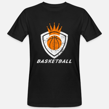 Logo Crown Basketball logo crown - Men's Organic T-Shirt