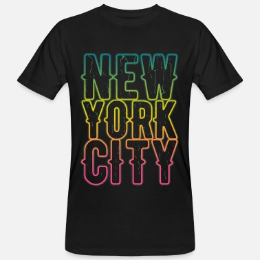 New York City Rap Style - Männer Bio T-Shirt