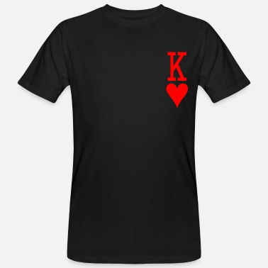 Kings Hearts KING of Heart - Men's Organic T-Shirt