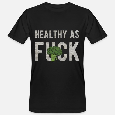 Meatless Vegan broccoli meatless healthy gift - Men's Organic T-Shirt