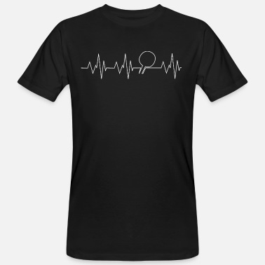Heart Beating Heart beat - Men's Organic T-Shirt