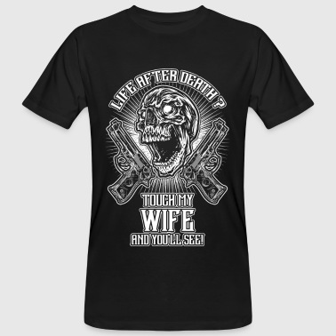 Don't touch my wife - EN - Men's Organic T-shirt