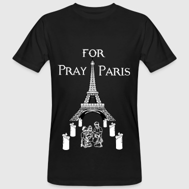 Pray For Paris Pray for Paris - Men's Organic T-Shirt