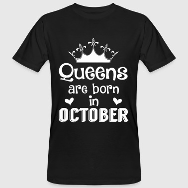 October - Queen - Birthday - 1 - T-shirt ecologica da uomo