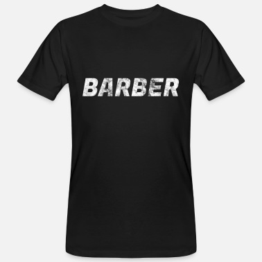 Cutting hair stylist - Men's Organic T-Shirt