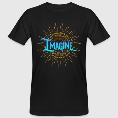 Lennon Lennon (Imagine Edition) - T-shirt ecologica da uomo