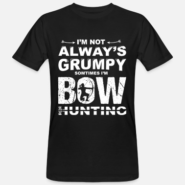 Bowhunter bowhunting - Men's Organic T-Shirt