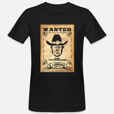 West Trump voleva Wild West - T-shirt ecologica da uomo