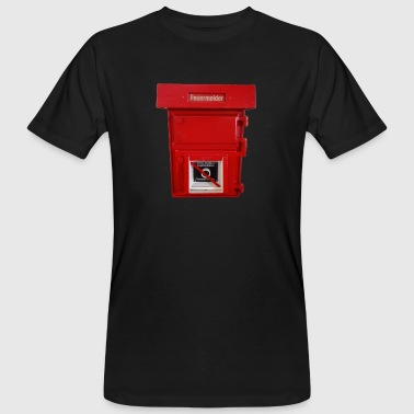big fire alarm - Men's Organic T-Shirt