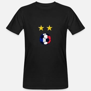 Football France France Coupe du Monde de Football - T-shirt bio Homme