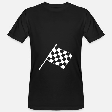 Checkered Flag checkered flag - Men's Organic T-Shirt