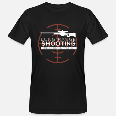 Range Long Range Shooting - Men's Organic T-Shirt