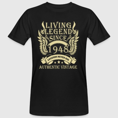 Living Legends Since 1948 Authentic Vintage - Ekologisk T-shirt herr
