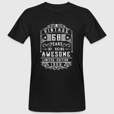 60 Years of being awesome Limited Edition 1958 - T-shirt bio Homme