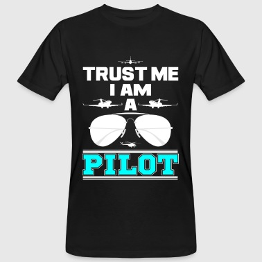 This Is Blue trust me i am a pilot blue png - Camiseta ecológica hombre