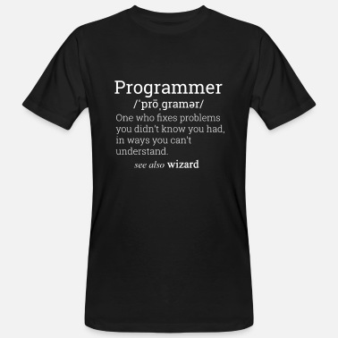 Programmer Definition - Men's Organic T-Shirt