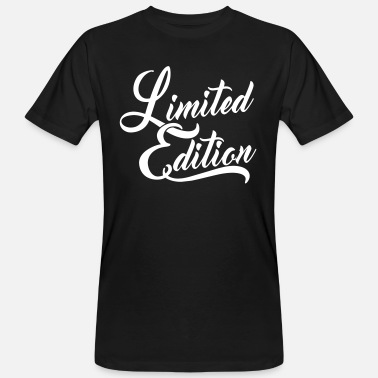 Limited Edition Limited Edition - Männer Bio T-Shirt